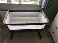 Cot bed babylo cozi sleeper, Slate Grey
