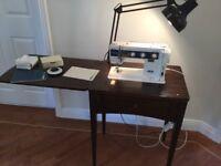 Elna SU sewing machine.