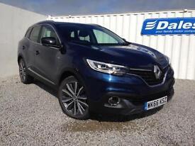 Renault Kadjar Signature Nav 1.5 dCi 110 Diesel (metallic - cosmos blue) 2016
