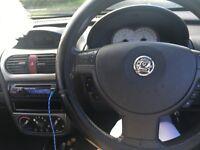 Black Vauxhall Cosa 1.4