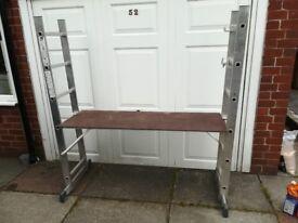 Hailo 1056 3 way step/platform /ladder