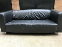 Ikea Leather Klippan Sofa-Free Delivery-Good Condition