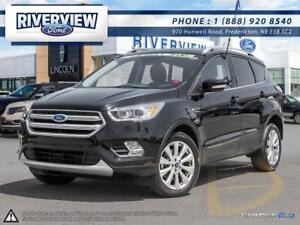 2018 Ford Escape Titanium - $139 Weekly for 72 Months at 1.9%!!