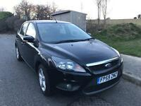 2010 Ford Focus 1.8 Zetec , LOW MILEAGE 55k, 1 Owner