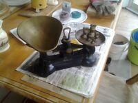 Kitchen scales. Libra Scale Co. 1920.