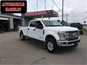 2017 Ford F-350 XLT diesel crew 6 places  camera