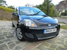 FORD FIESTA STYLE 1.25 CLIMATE ONLY 26,400 MILES MET BLACK 5 DOOR