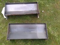Steel concrete moulds
