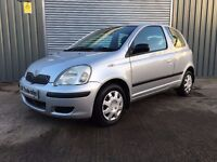 2005 TOYOTA YARIS 1.0 VVTI *** FULL YEARS MOT *** similar to clio punto polo corsa 60 cars available