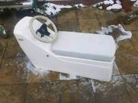 GRP Double Jockey Steering Console Rib Inflatable boat