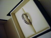 Platinum Diamond 1 Carat Full Set Eternity Ring