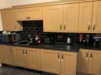 Light oak Kitchen doors