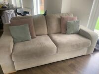 SOLD. Sofa and snuggle chair