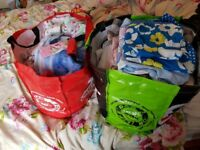 2 huge bags of girls clothes age 5-9 years