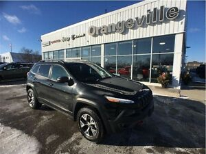 2016 Jeep Cherokee TRAILHAWK, HEATED LEATHER, ROO