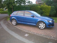 AUDI A3 2.0TDI 5DR IMMACULATE £30 TAX FSH LOOKS & DRIVES GREAT POWERFULL SMOOTH & ECONOMICAL PX POS