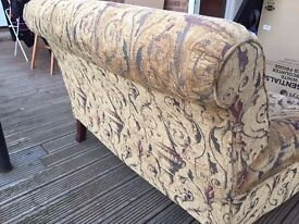2 Seater/small/cuddle/seat/shabby chic sofa