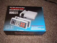 MINI GAMES ENTERTAINMENT SYSTEM 500 GAMES NEW