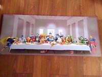 DC Comics Superheroes Canvas, The Last Supper 51x122cm