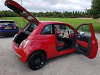 Fiat 500 1.2 therapy red. Low mileage only 10k