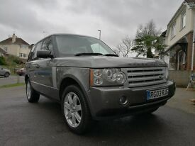 DA57 KUF Range Rover Vogue in Stornaway Grey and Black Leather - Great Condition Low mileage (91k)