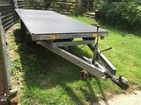 Indespension 12'x6' Flatbed Trailer