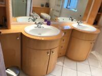 Bespoke Beech Bathroom suite with all fittings