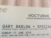 2 x Gary Barlow tickets
