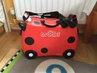 Trunki Terrance Ride-On Suitcase - Blue &Red
