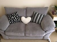 Lovely grey 2 seater sofa, no damage, smoke free house, very comfy and recently bought