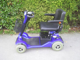 STERLING SAPPHIRE mobility scooter, 23.4 stone, portable / disassembles