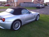BMW Z4 ROADSTER CONVERTIBLE EXCELLENT CONDITION ELECTRIC FSH (SWAP PX P/X PART EXCHANGE WHY?)