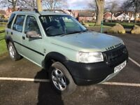 2002 LAND ROVER FREELANDER 2.0 TD4 GS 5 DR STATION WAGON 4X4 STUNNING 12 MONTH'S M.O.T