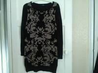 Ladies size 14 jumper dress