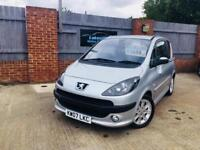 2007 PEUGEOT 1007 only 31k miles from new
