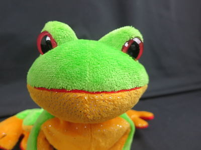 Webkinz Plush Only No Code Free Shipping Green Tree Frog Stuffed Animal Toy Wowi
