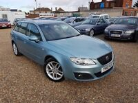 Seat Exeo 2.0 TDI DPF SE ST 5dr, FSH. HPI CLEAR. LONG MOT. EXCELLENT CONDITION. P/X WELCOME