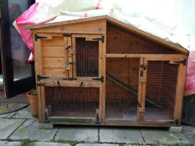 Animal hutch - rabbits, ferrets, guinea pigs, etc.