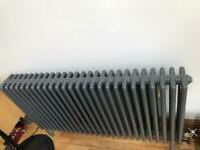 Selection of old column and panel radiators