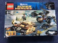 Lego Batman Bat vs. Bane: Tumbler Chase 76001