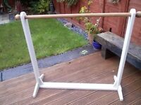 Clothe rail (hand made) Country style