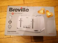 Breville VTT470 Impressions 4-Slice Toaster with High-Lift