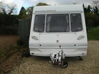 abbey expression 470 1999 2 berth with motor mover and full awning