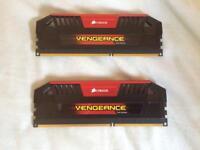 8gb Corsair Vengeance DDR3 RAM (2x4)