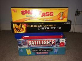Variety of board games (sold separately or as one)