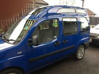 Fiat Doblo. Fully converted for wheelchair / scooter