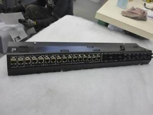 IBM 45W0904 PATCH PANEL CABLE MANAGEMENT 11 RJ-45 24 FIBRE CHANNEL