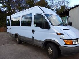 One owner, Low mileage Front entry 12 Seater Minibus