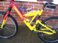 FOR SALE CANNONDALE SUPER V 800 HEAD SHOK FATTY D BICYCLE...£250