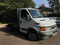 Iveco Daily 35S12 Tipper 2005 low mileage Transit